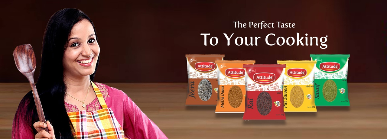 Attitude Whole Spices Banner