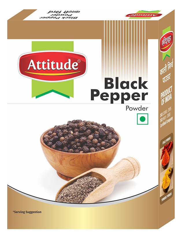 Attitude black pepper